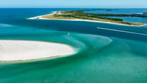 Parc d'État de Caladesi Island, Floride