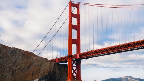 Le GoldenGate Bridge de SanFrancisco, Californie
