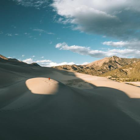 Balade dans le Great Sand Dunes National Park and Preserve du Colorado