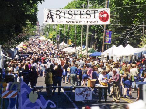 Artsfest on Walnut Street, l'un des plus grands festivals en plein air du sud-ouest du Missouri
