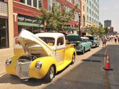 Le Birthplace of Route 66 Festival & Car Show, un festival et salon automobile mettant à l'honneur le passé de l'Amérique