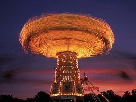 Une attraction qui donne le tournis pendant l'Arkansas State Fair