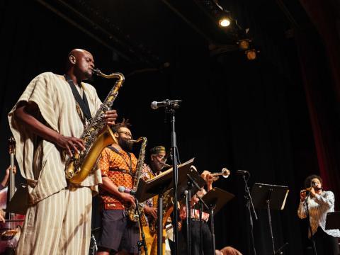 Ambiance feutrée au Chicago Jazz Fest