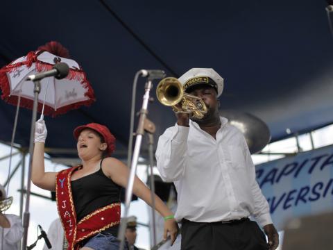 Au rythme de la fanfare lors de la Satchmo Summerfest