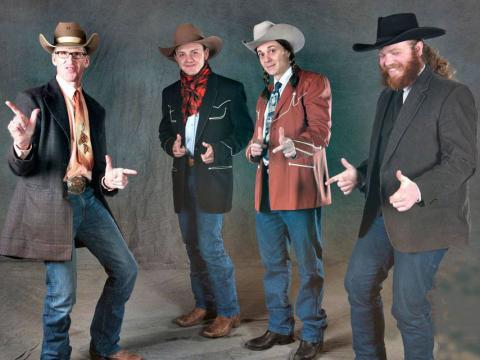 Plaisanteries et pitreries lors du Genoa Cowboy Festival