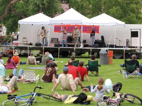 Musique live lors du Moab Arts Festival