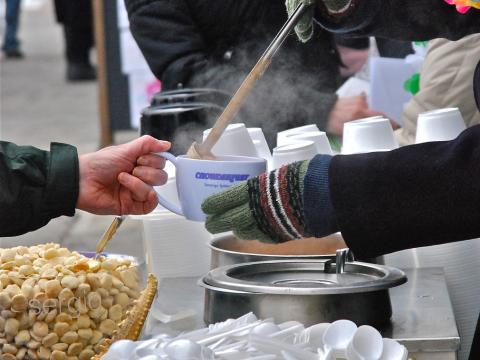 En février, le festival Chowderfest réchauffe la foule