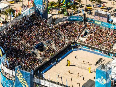 Tournoi SWATCH FIVB de beach-volley à Fort Lauderdale