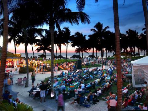 Festival de musique SummerJazz on the Gulf à Naples, Floride