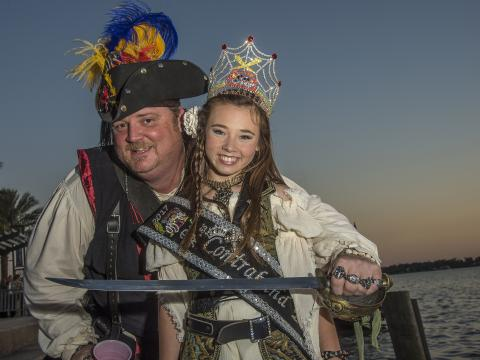 Tous déguisés pour le Louisiana Pirate Festival de LakeCharles