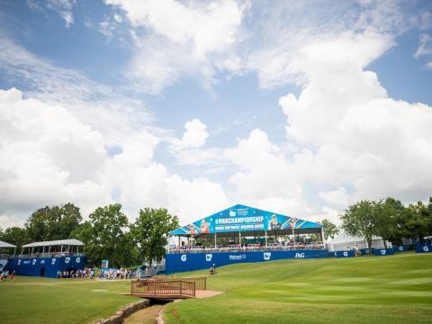 Le championnat NW Arkansas Championship, une des étapes du circuit LPGA, à Rogers, dans l'Arkansas