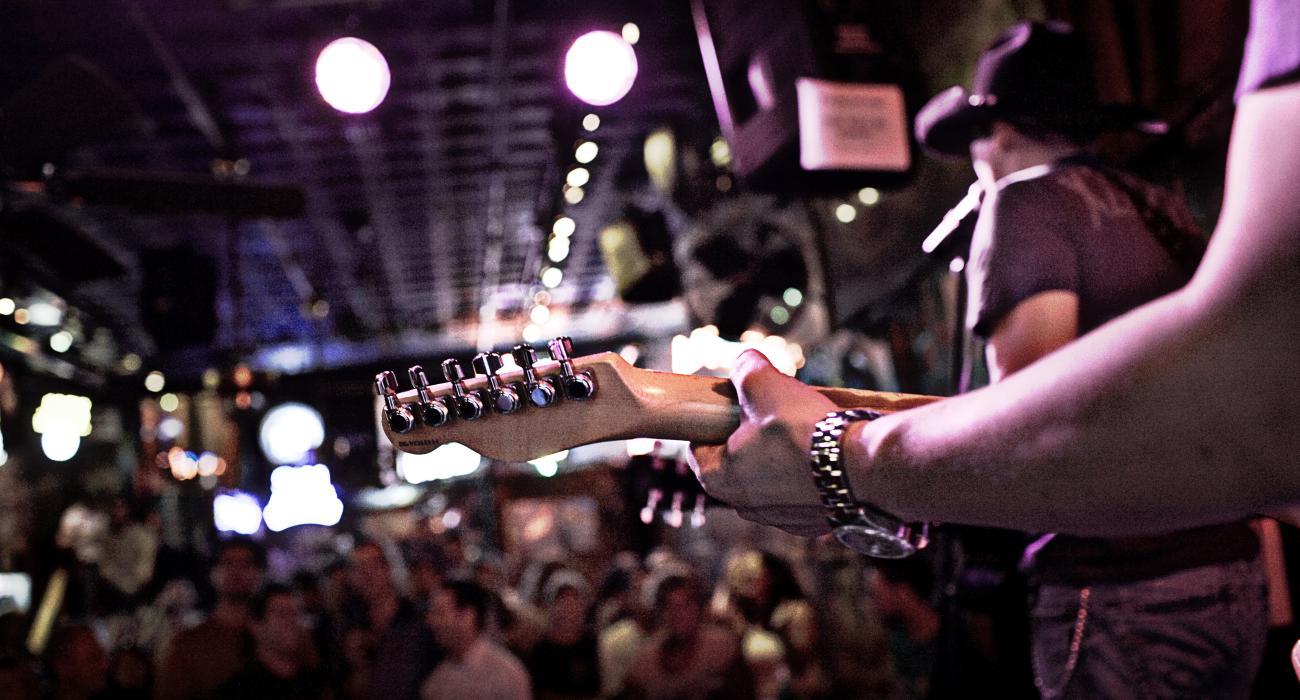 Scène de rencontre à Nashville